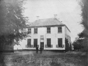 Klein Martijn vlak voor de sloop in 1896
