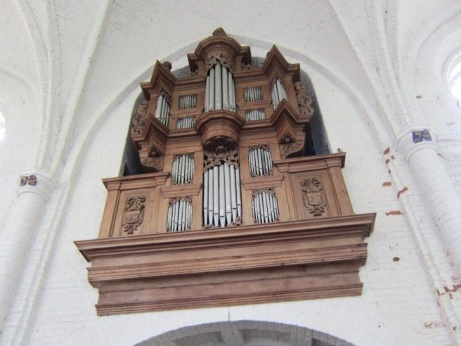 In de kerk hangt dit orgel van Arp Schnitger uit 1696. Foto: Zakina's blog.