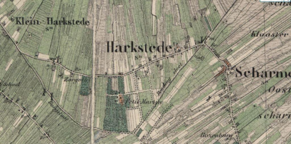 klein-martijn kaart 1869